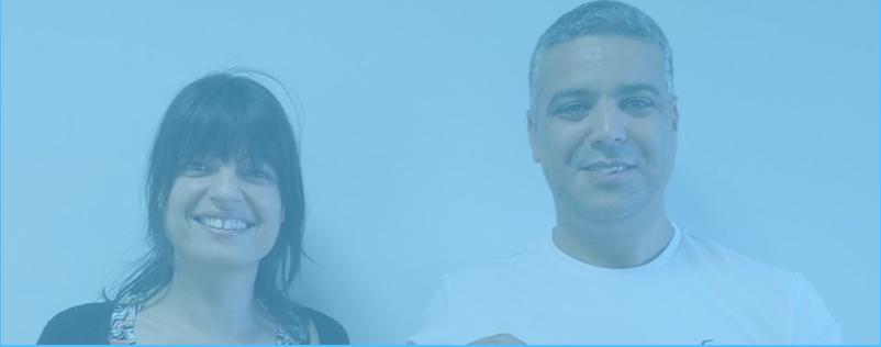 Prescilla Sandri & Mohamed Moussa, les fondateurs d'adn
